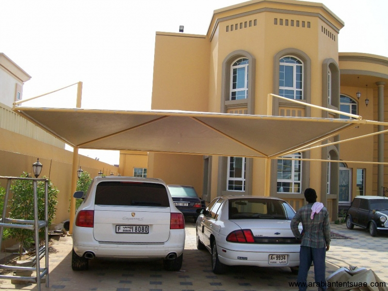 Car Parking Arabian Tents